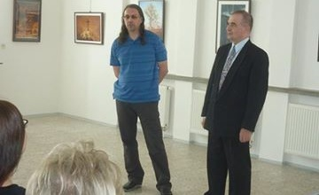 Foto z výstavy Vratislava Hnátka