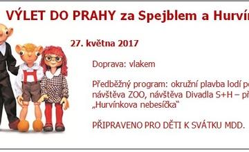 S dětmi na výlet do Prahy…