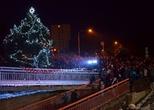 Rozsvícení vánočního stromu v Adamově