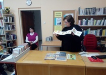 Březen - měsíc knihy s dětmi z MŠ Komenského