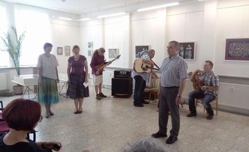 Výstava prací Aleny Baisové