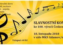 Slavnostní koncert ke 100. výročí Československa