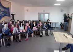 21/03/2019 Dnešní setkání dětí s herečkou Míšou Dolinovou.