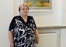 12/05/2019 Z vernisáže výstavy Heleny Puchýřové