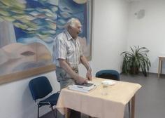 10/06/2019 Z besedy s autorem knihy o Moravském krasu