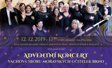 Adventní koncert Vachova sboru moravských učitelek
