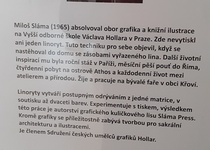Z vernisáže výstavy Miloše Slámy